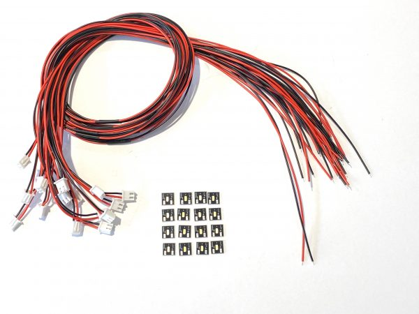 LED Chips Prewired kit