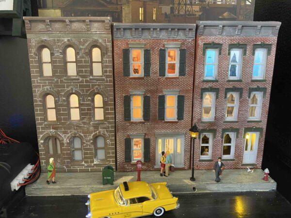 HO Scale Row House