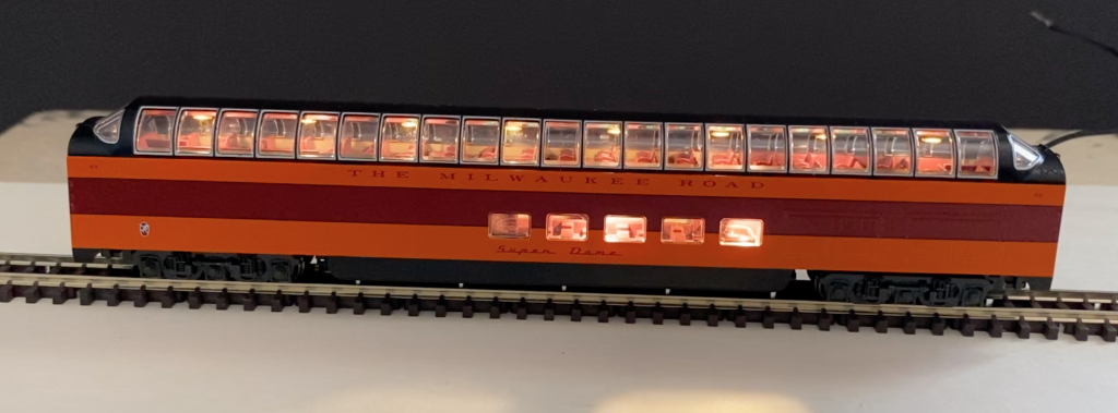 Hiawatha N Scale Lighting